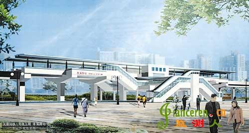 深圳地铁三号线设计图