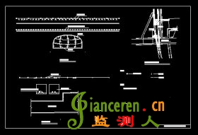<strong>地铁地表变形及隧洞变形监测布置图</strong>