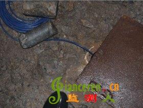 某地下工程分层渗压计安装埋设照片