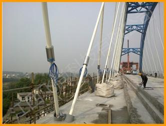 合肥铁路铜陵长江大桥北引桥吊杆索力长效监测
