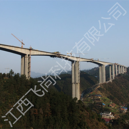 湖南省新溆两江特大桥健康监控系统